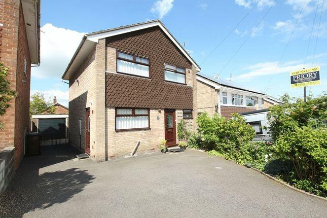 Thumbnail Detached house for sale in Lagonda Close, Knypersley, Biddulph