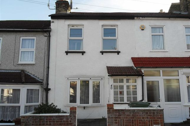 Thumbnail Terraced house to rent in Coleman Road, Belvedere, Kent