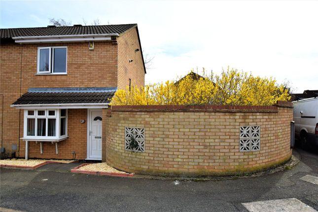 Thumbnail Semi-detached house for sale in Morgan Close, Northampton