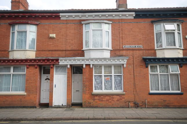Thumbnail Terraced house for sale in Beckingham Road, Evington, Leicester