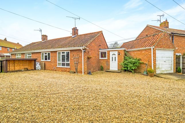 Thumbnail Semi-detached bungalow for sale in North View Drive, Whissonsett, Dereham