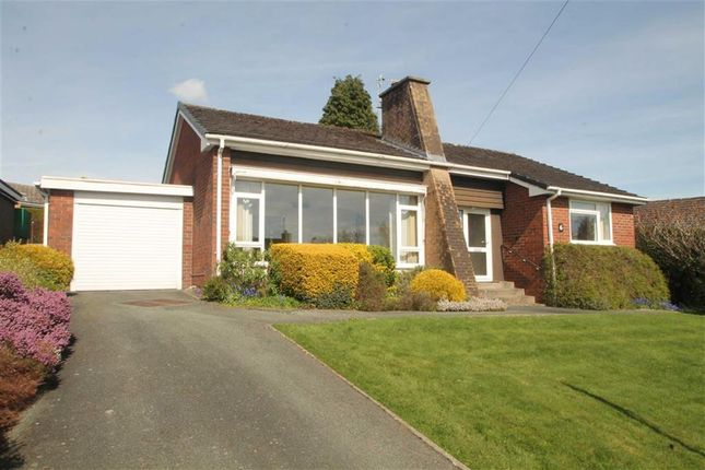 Thumbnail Detached bungalow to rent in Bradley Fields, Oswestry