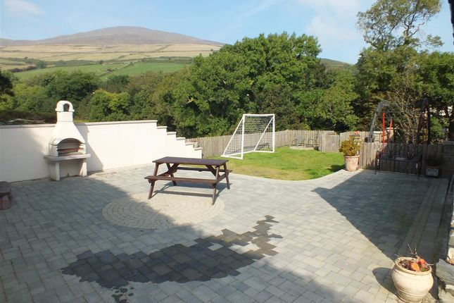 Patio Area of The Old Mill, The Corony, Maughold IM7