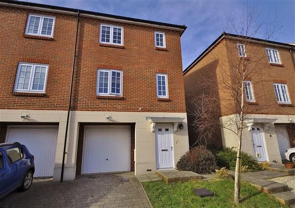 Thumbnail End terrace house for sale in Normandy Way, Singleton, Ashford