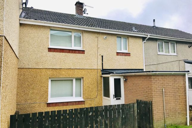 Thumbnail Semi-detached house for sale in Brynhyfryd, Pontlottyn, Bargoed