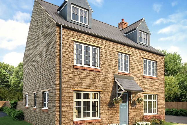 "Thumbnail Detached house for sale in ""Hanwell"" at Bloxham Road, Banbury"