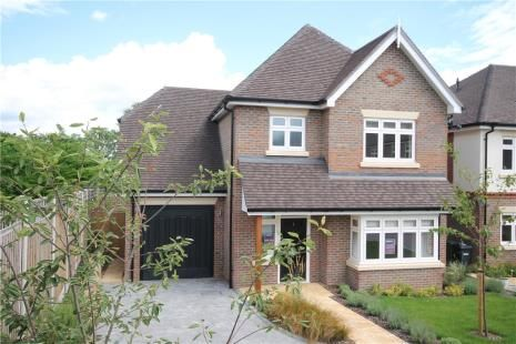 Thumbnail Detached house for sale in Mimosa Close, Epsom