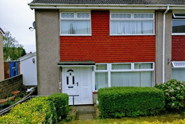 Thumbnail Semi-detached house to rent in Heol-Yr-Eos, Penllergaer