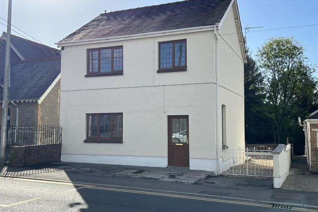 Thumbnail Detached house for sale in Ammanford Road, Tycroes, Ammanford