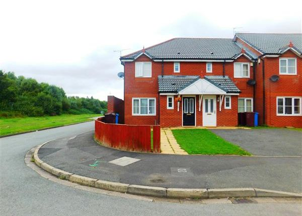 Thumbnail End terrace house to rent in Newick Road, Kirkby, Liverpool