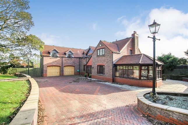 Thumbnail Detached house for sale in Church Lane, Carnaby, Bridlington