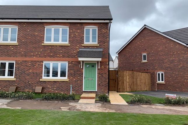 3 bed semi-detached house to rent in Lewis Crescent, Wellington, Telford TF1