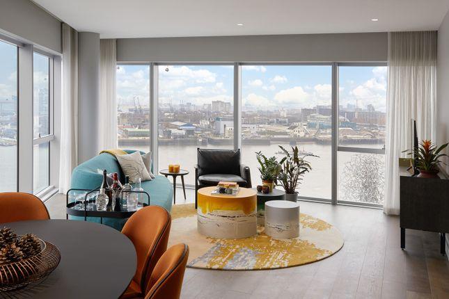 Thumbnail Flat for sale in Upper Riverside, London