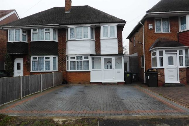 Thumbnail Semi-detached house for sale in Hodge Hill Road, Hodge Hill, Birmingham