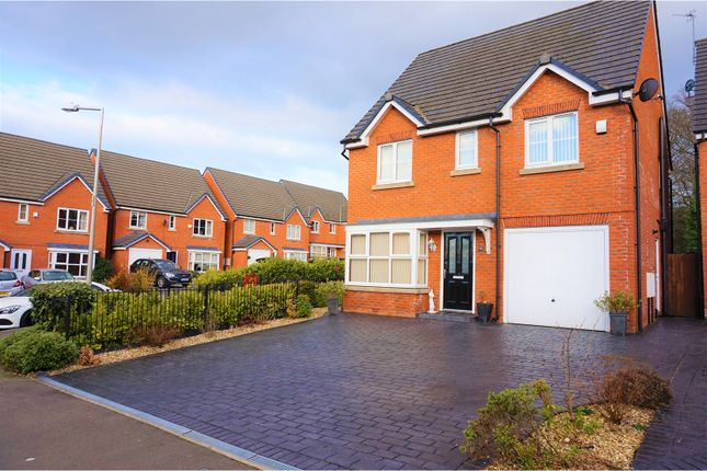 Thumbnail Detached house for sale in Nightingale Close, Stockport