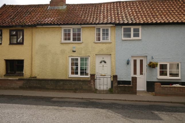 2 bed terraced house for sale in Fore Street, Framlingham, Suffolk IP13