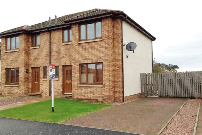 Thumbnail Semi-detached house to rent in Newton Place, East Wemyss, Kirkcaldy