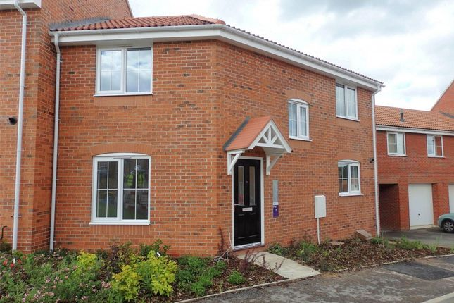 Thumbnail End terrace house to rent in Kerry Close, Clipstone Village, Mansfield