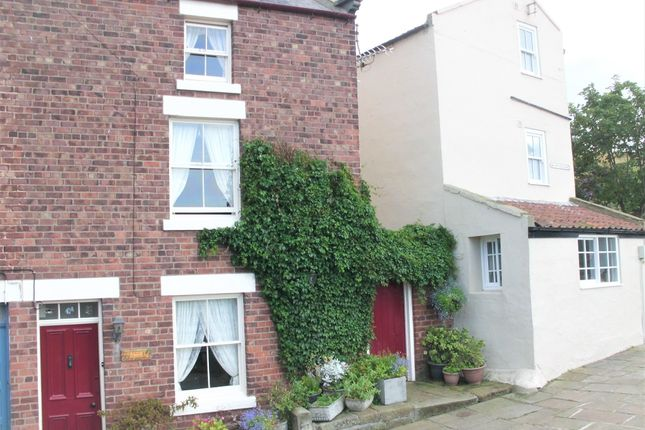 Thumbnail End terrace house for sale in Mount Pleasant, Staithes, Saltburn-By-The-Sea