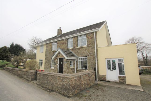 Thumbnail Detached house for sale in Pencae, Llanarth