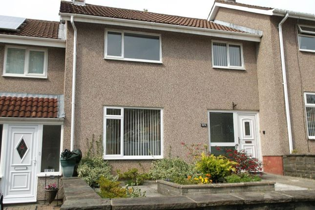 Thumbnail Terraced house to rent in Lliswerry Drive, Llanyravon, Cwmbran