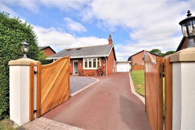Thumbnail Detached bungalow for sale in Lytham Road, Warton, Preston, Lancashire