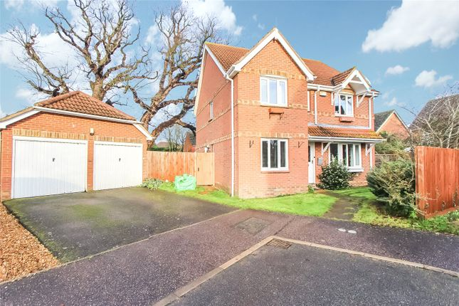 Thumbnail Detached house for sale in Fuller Close, Spaldwick, Huntingdon