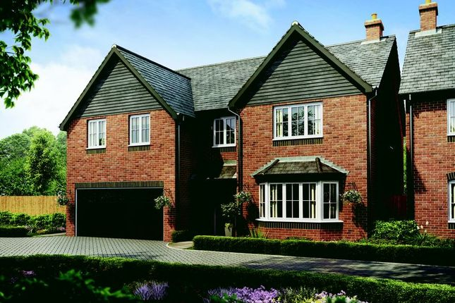 Thumbnail Detached house for sale in Plot 66 The Knightsbridge, Barley Fields, Uttoxeter