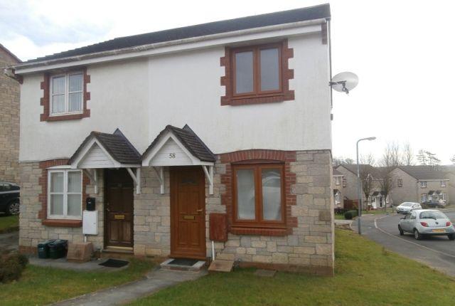 Thumbnail Semi-detached house to rent in Parc Morlais, Llangennech, Llanelli