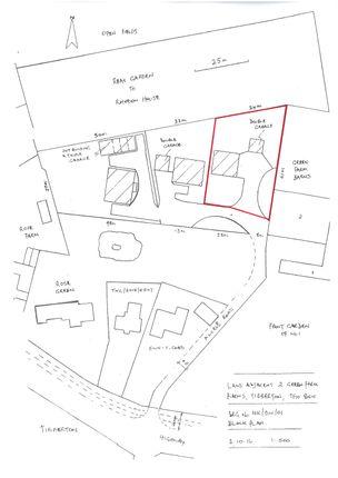 Thumbnail Land for sale in Plot 1, Green Farm Barns, Tibberton