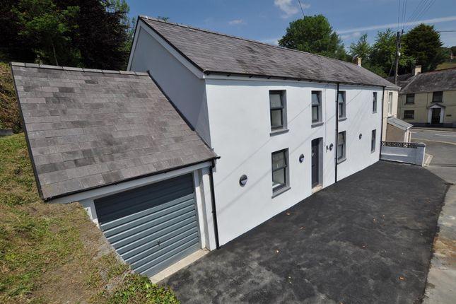 Thumbnail Semi-detached house for sale in Y Glyn, Nantgaredig, Carmarthen