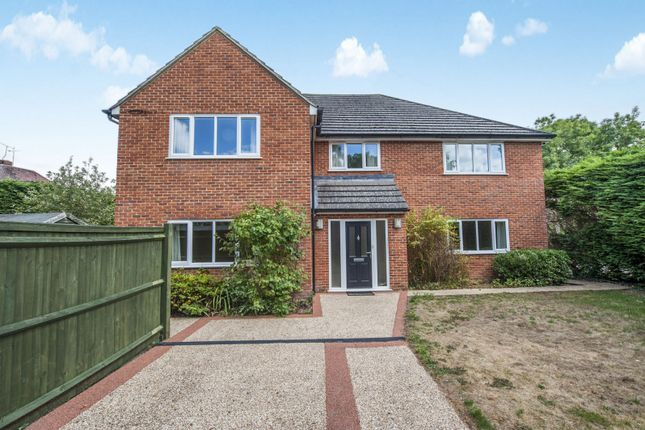 Thumbnail Detached house to rent in Northford Close, Shrivenham, Swindon