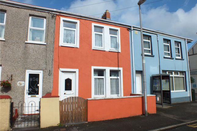 Thumbnail Terraced house to rent in Waterloo Road, Hakin, Milford Haven