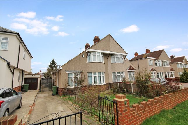 Thumbnail Semi-detached house for sale in Welling Way, South Welling, Kent