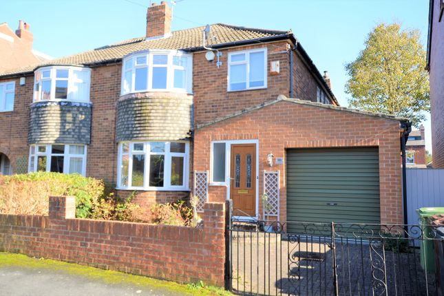 Thumbnail Semi-detached house to rent in Gledhow Wood Avenue, Leeds