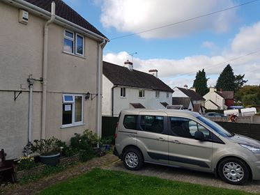 Thumbnail Semi-detached house to rent in Westcombes, Chardstock, Axminster