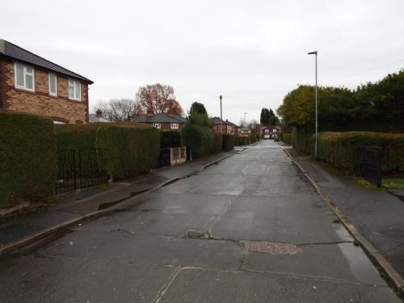 Front Views of Haldon Road, Manchester, Greater Manchester, Uk M20
