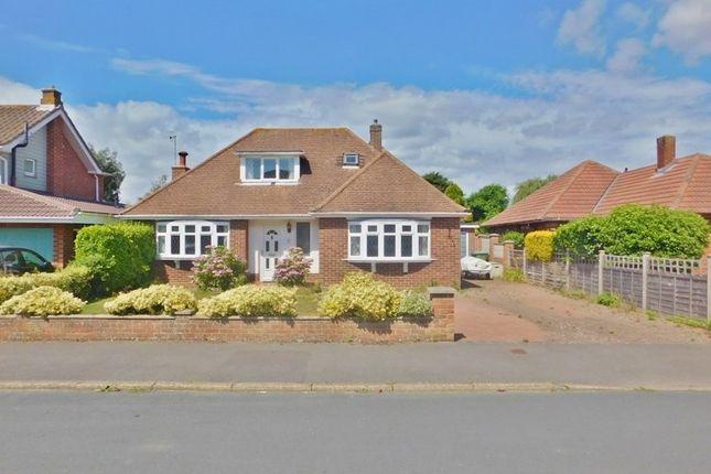 Thumbnail Detached bungalow for sale in Pilgrims Way, Stubbington, Fareham