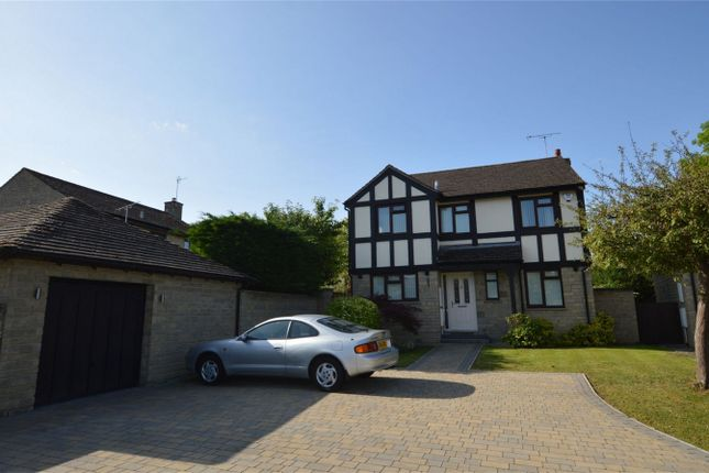 Thumbnail 4 bedroom detached house for sale in Linden Close, Prestbury, Cheltenham