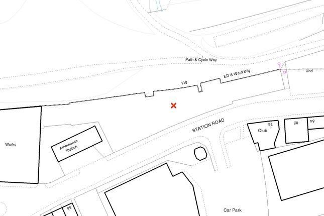 Map 1  of Station Road, Rushden NN10
