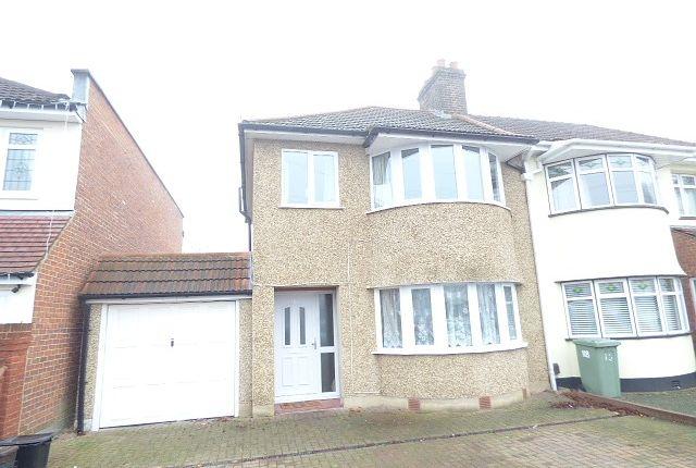 Thumbnail Property to rent in Okehampton Crescent, Welling
