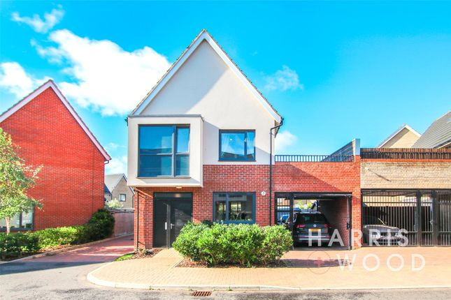 Thumbnail Detached house for sale in Endeavour Way, Colchester