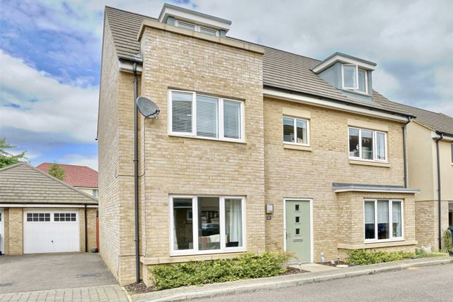 Thumbnail Detached house for sale in Day Close, St. Neots, Cambridgeshire