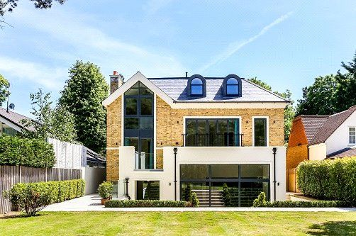 Thumbnail Detached house for sale in Kingston Hill, Kingston Upon Thames, Surrey