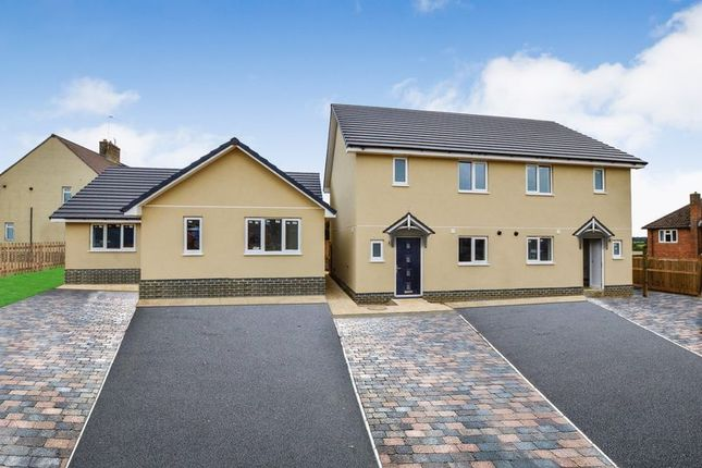 Thumbnail Semi-detached house for sale in Brock Close, Church Road, Wittering, Peterborough