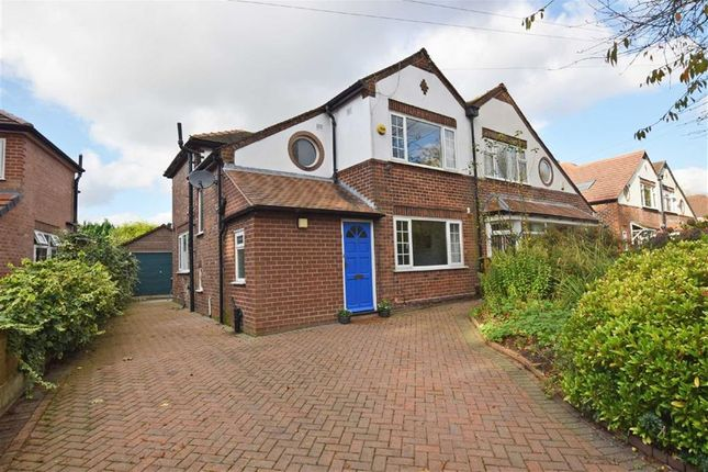 Thumbnail Semi-detached house for sale in Ford Lane, Didsbury, Manchester