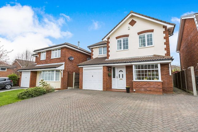 Thumbnail Detached house for sale in Springwood Close, Walton-Le-Dale, Preston