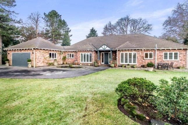 Thumbnail Bungalow for sale in Badger Road, Prestbury, Macclesfield, Cheshire