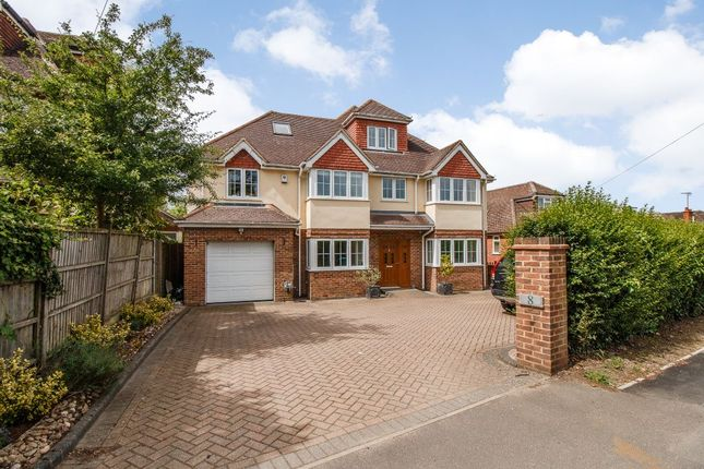 Thumbnail Detached house for sale in Matthewsgreen Road, Wokingham, Berkshire
