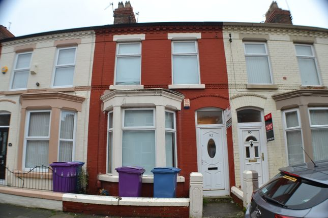 Thumbnail Terraced house to rent in Langton Road, Smithdown, Liverpool